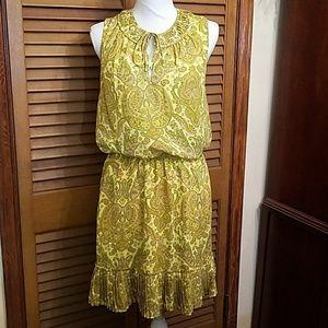 Banana Republic Paisley Dress
